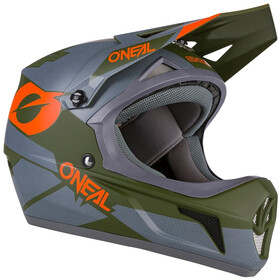 O'Neal Sonus Hjelm Deft, gray/olive/orange